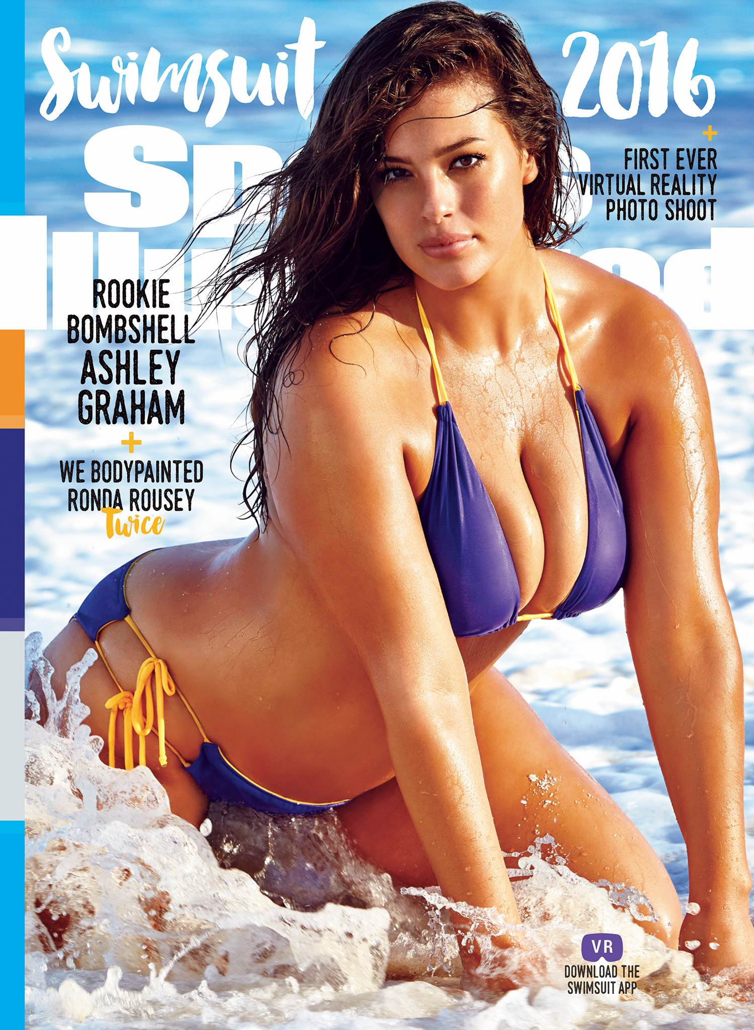 Ashley Graham for Sports Illustrated Swimsuit Edition-1