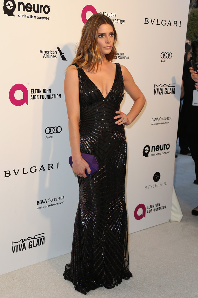 Ashley Greene at Annual Elton John Aids Foundations Oscar Viewing Party-1