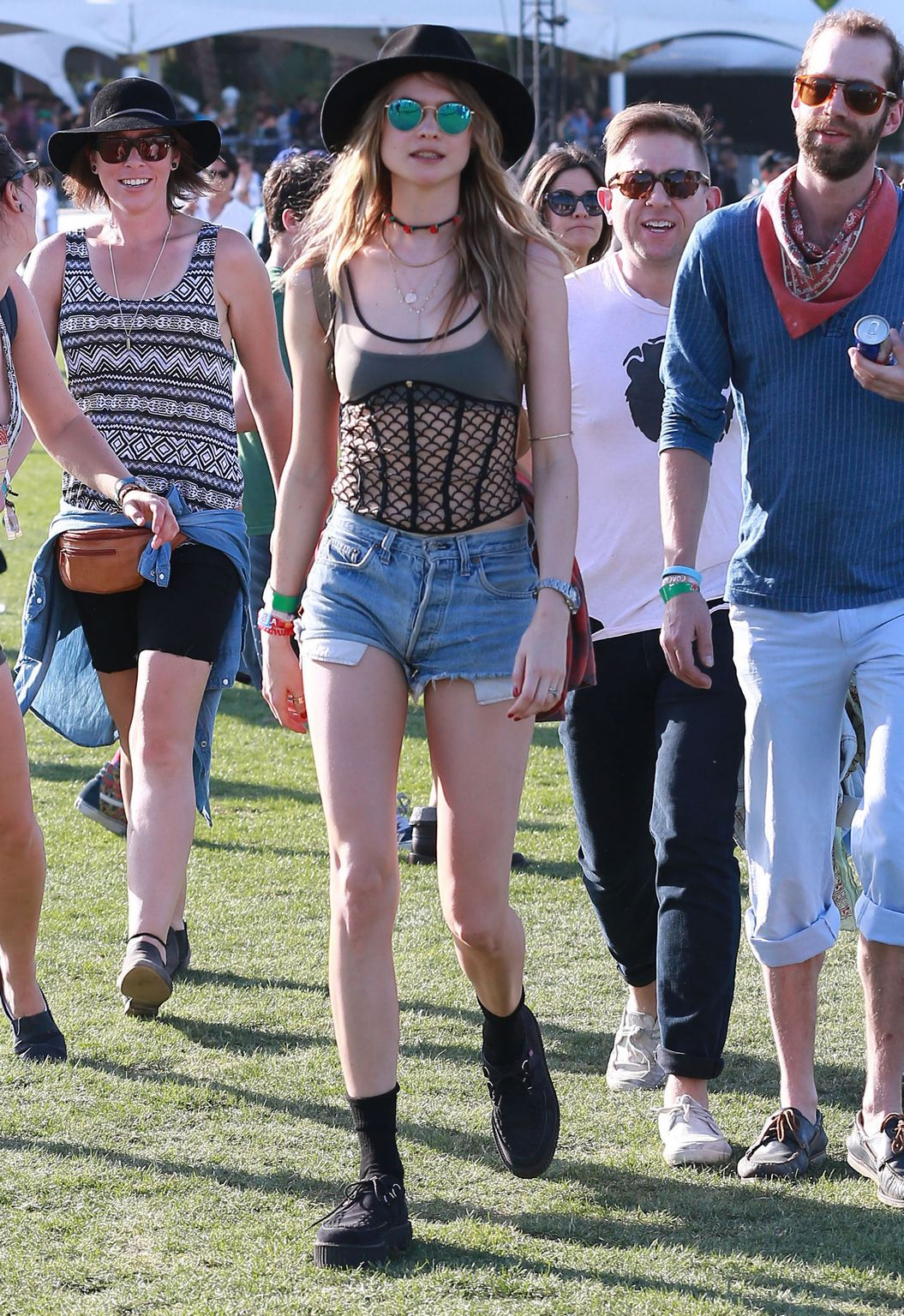 Behati Prinsloo At The Coachella Valley Music and Arts Festival Day-4