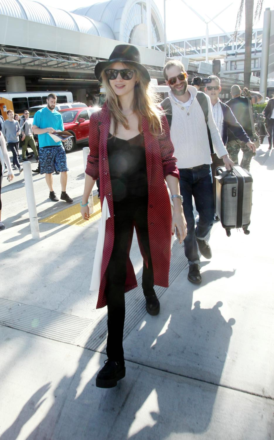 Behati Prinsloo is spotted at LAX-1