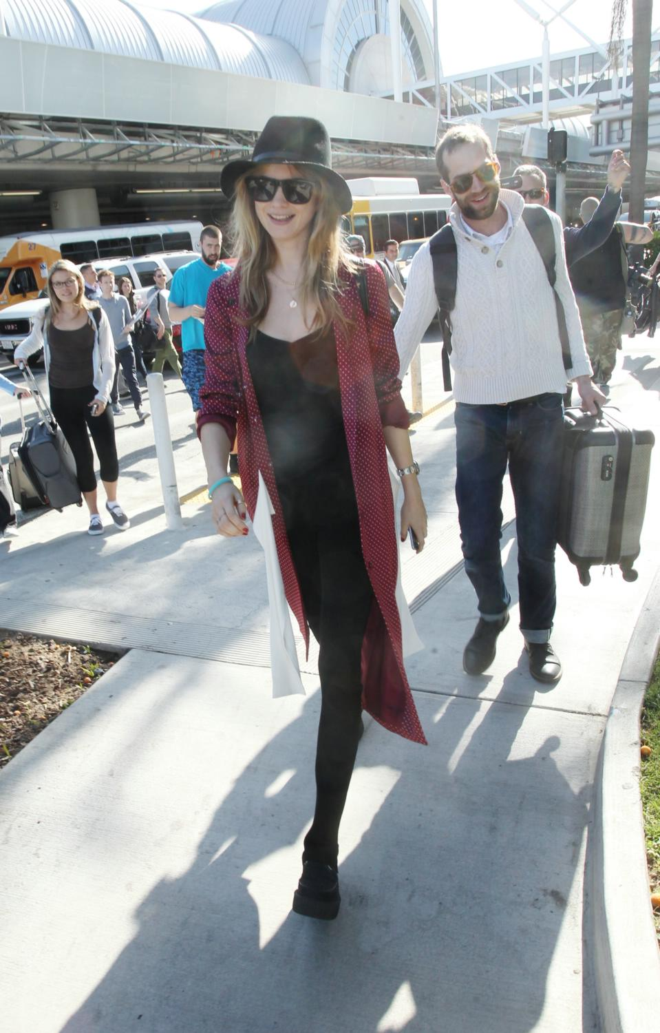 Behati Prinsloo is spotted at LAX-2