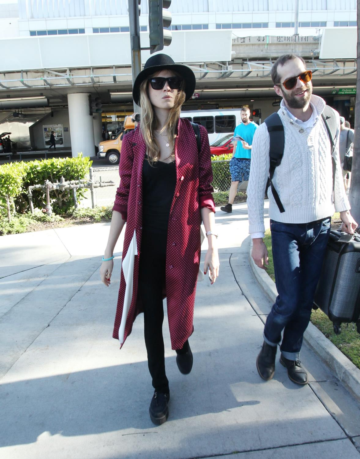 Behati Prinsloo is spotted at LAX-4