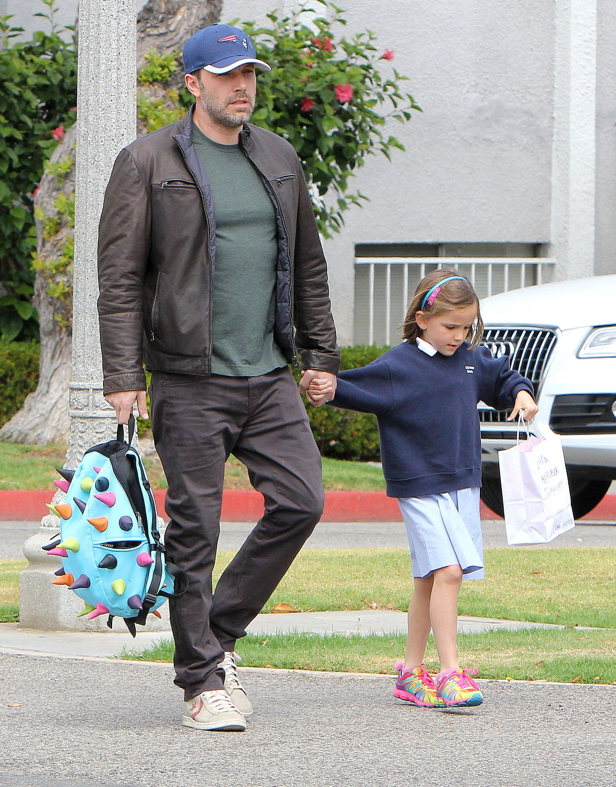 Ben Affleck in Brentwood-1