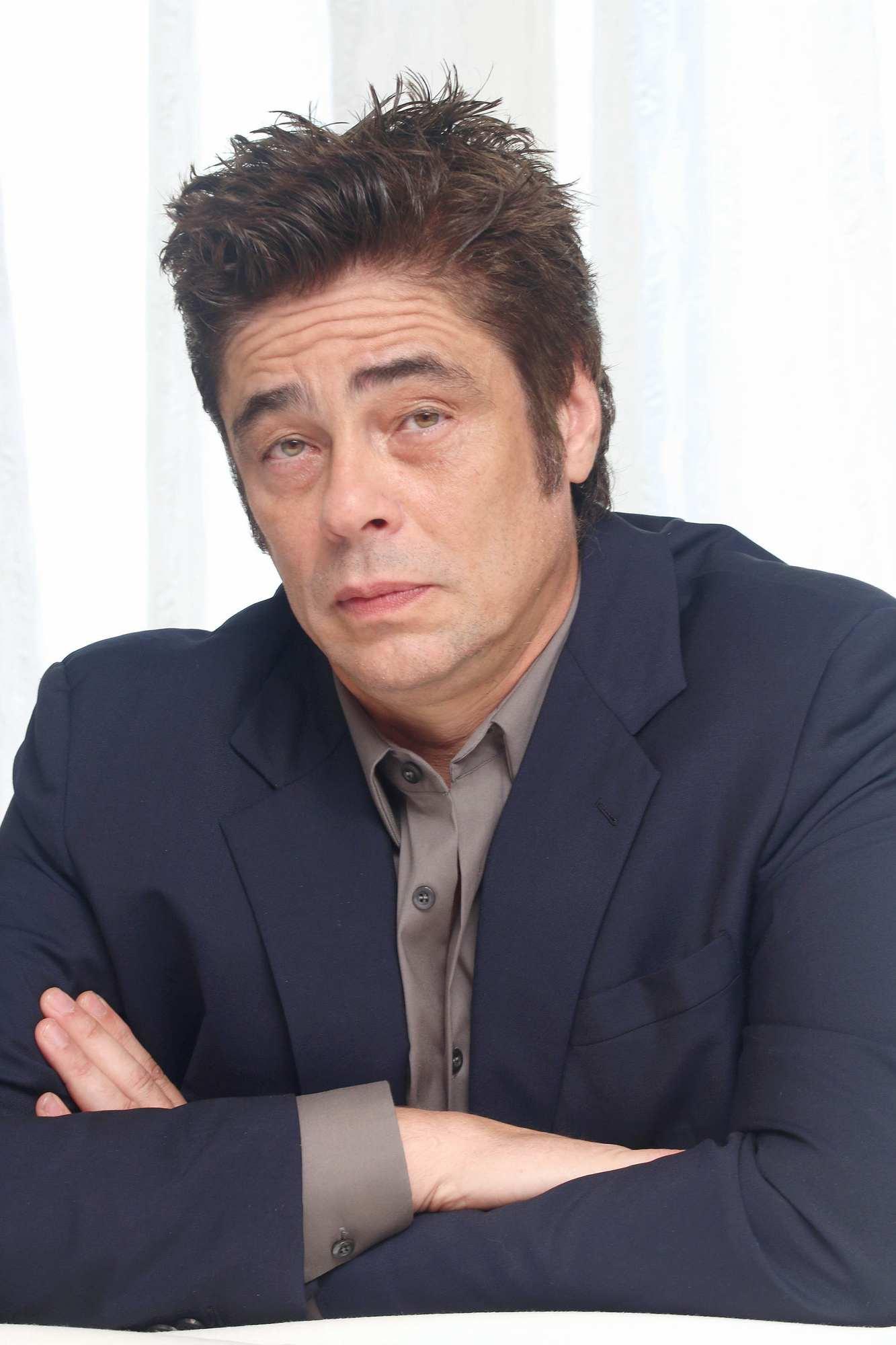 Press Conference >> Benicio Del Toro at A Perfect Day Press Conference – Celeb Donut