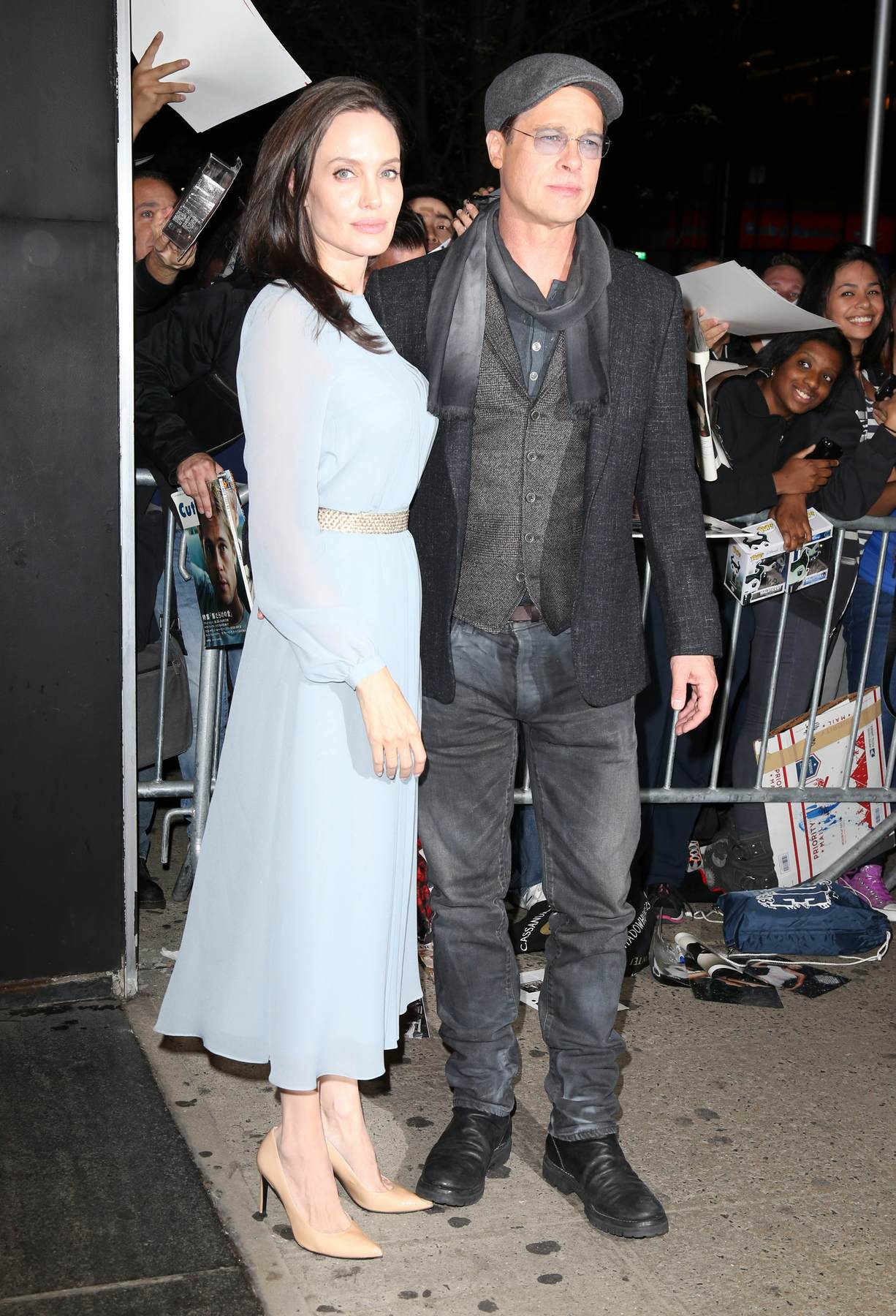 Brad Pitt and Angelina Jolie Attends By The Sea Q and A Event-1