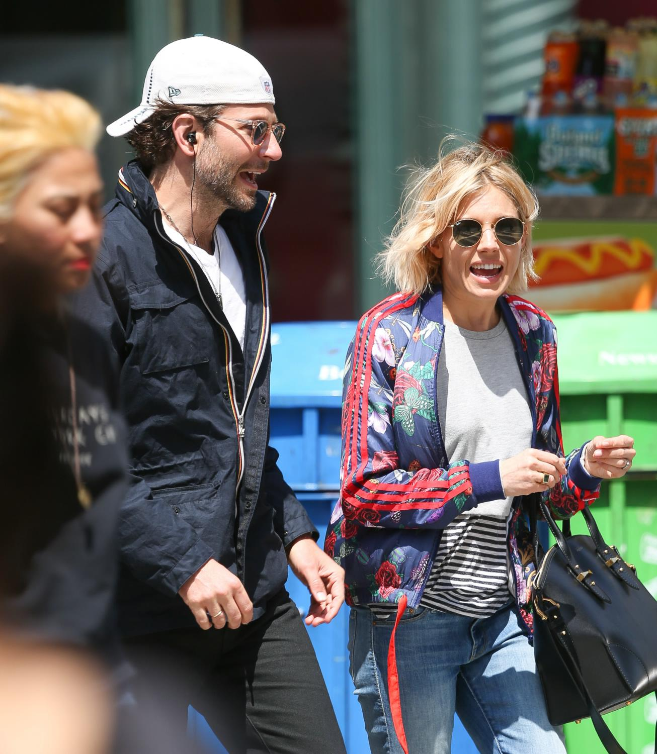 Bradley Cooper and Sienna Miller Stroll in NYC-1