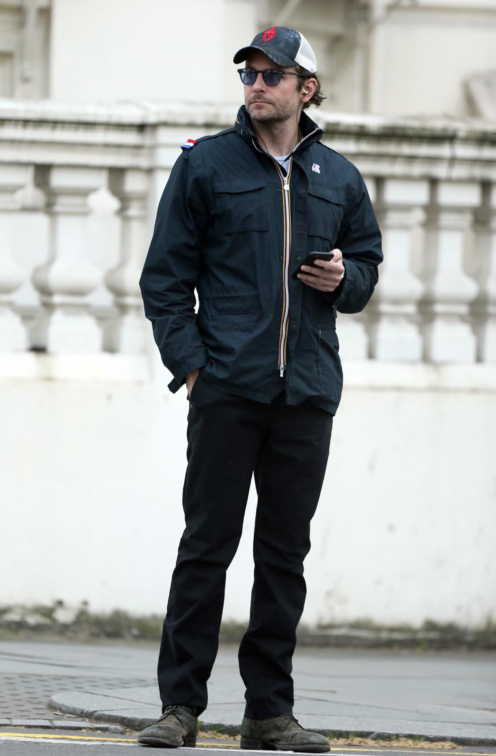 Bradley Cooper Spotted Out and About in London-3