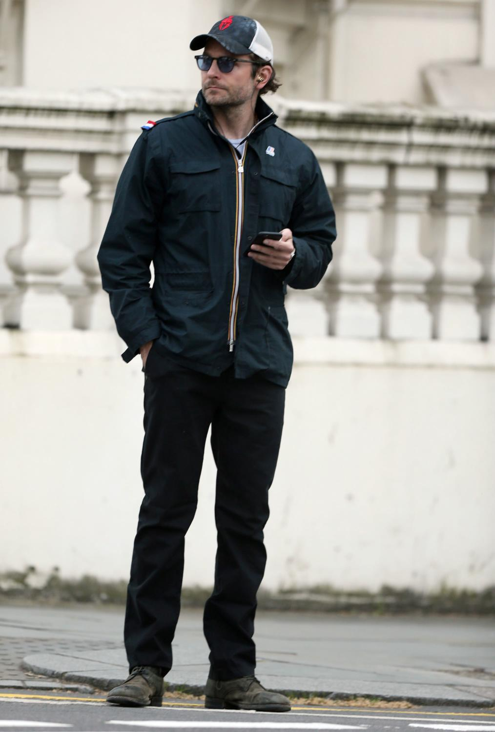 Bradley Cooper Spotted Out and About in London-4