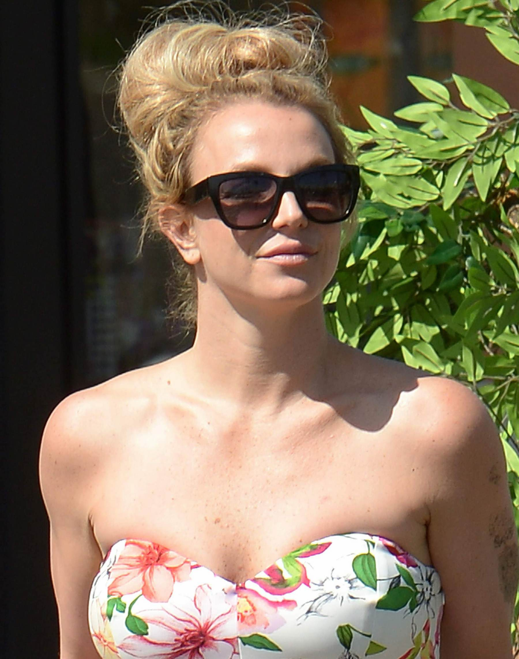 Britney Spears Shopping in LA-1