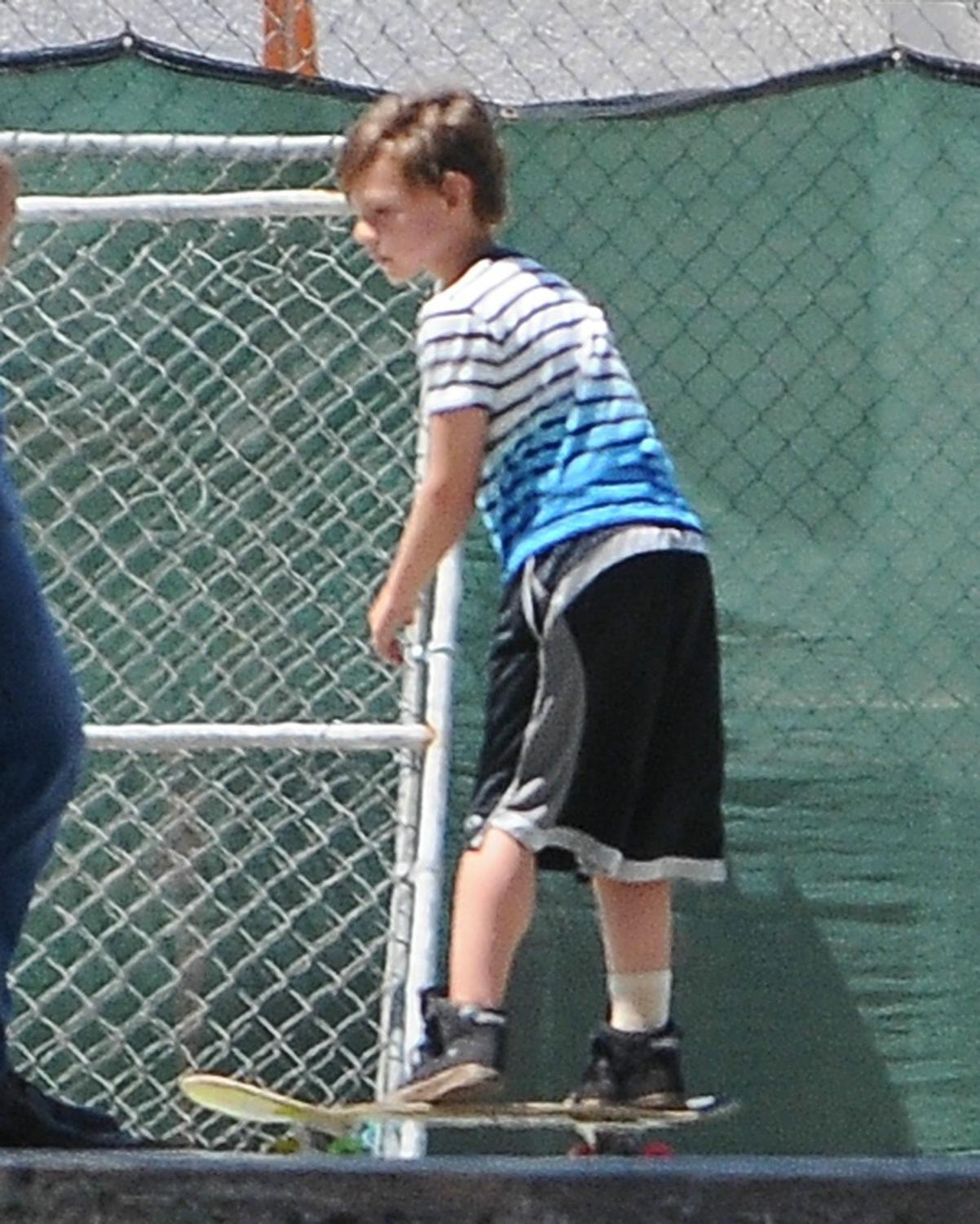 Britney Spears Watches Her Son Play Soccer in Calabasas-1