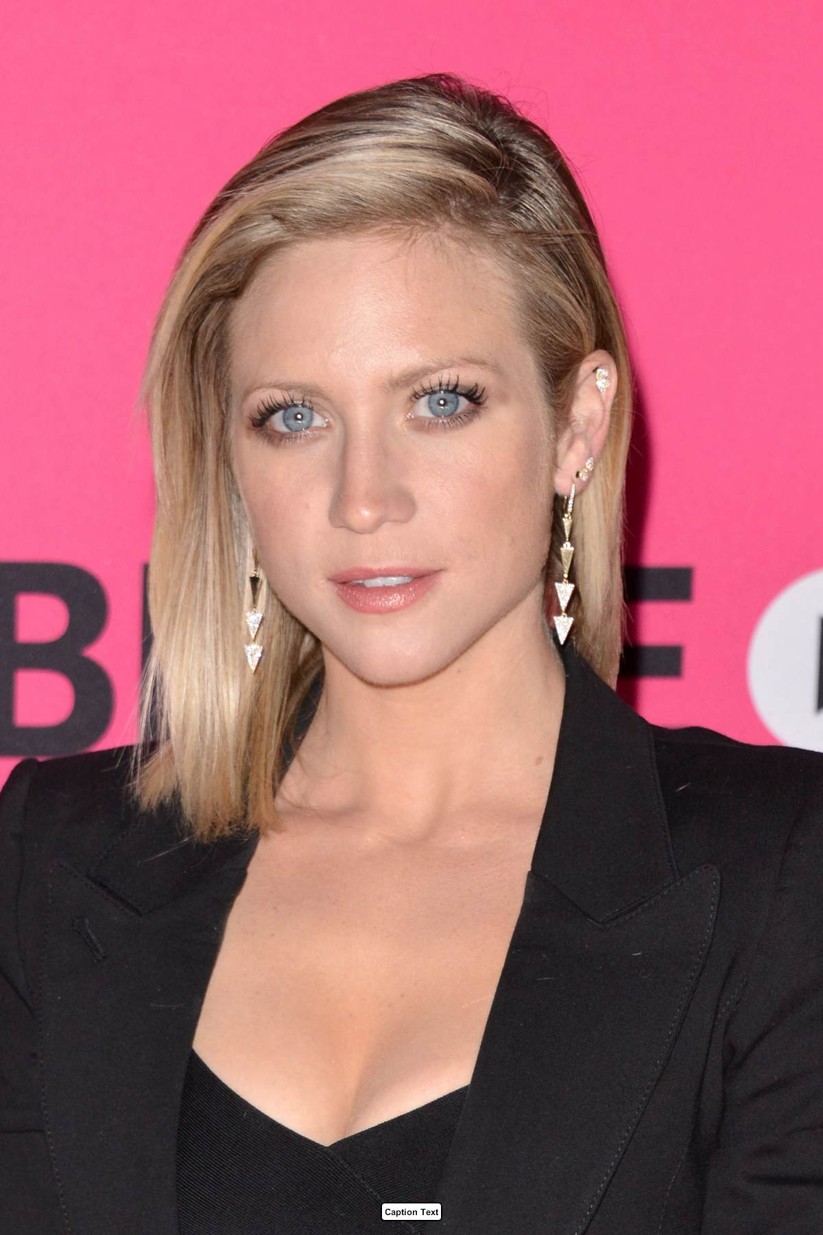 Brittany Snow arrives at T-Mobile celebrates Un-carrier X ... Brittany Snow