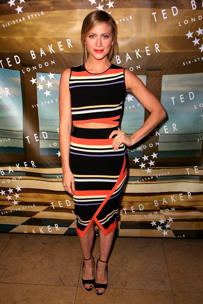 Brittany Snow arrives at Ted Baker London S/S Launch Event-2