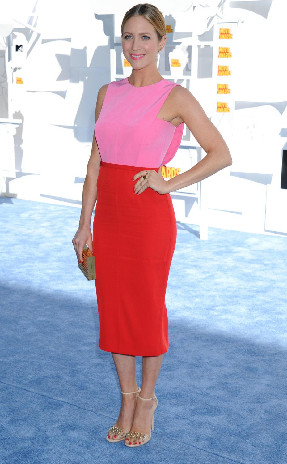 Brittany Snow at The MTV Movie Awards-1