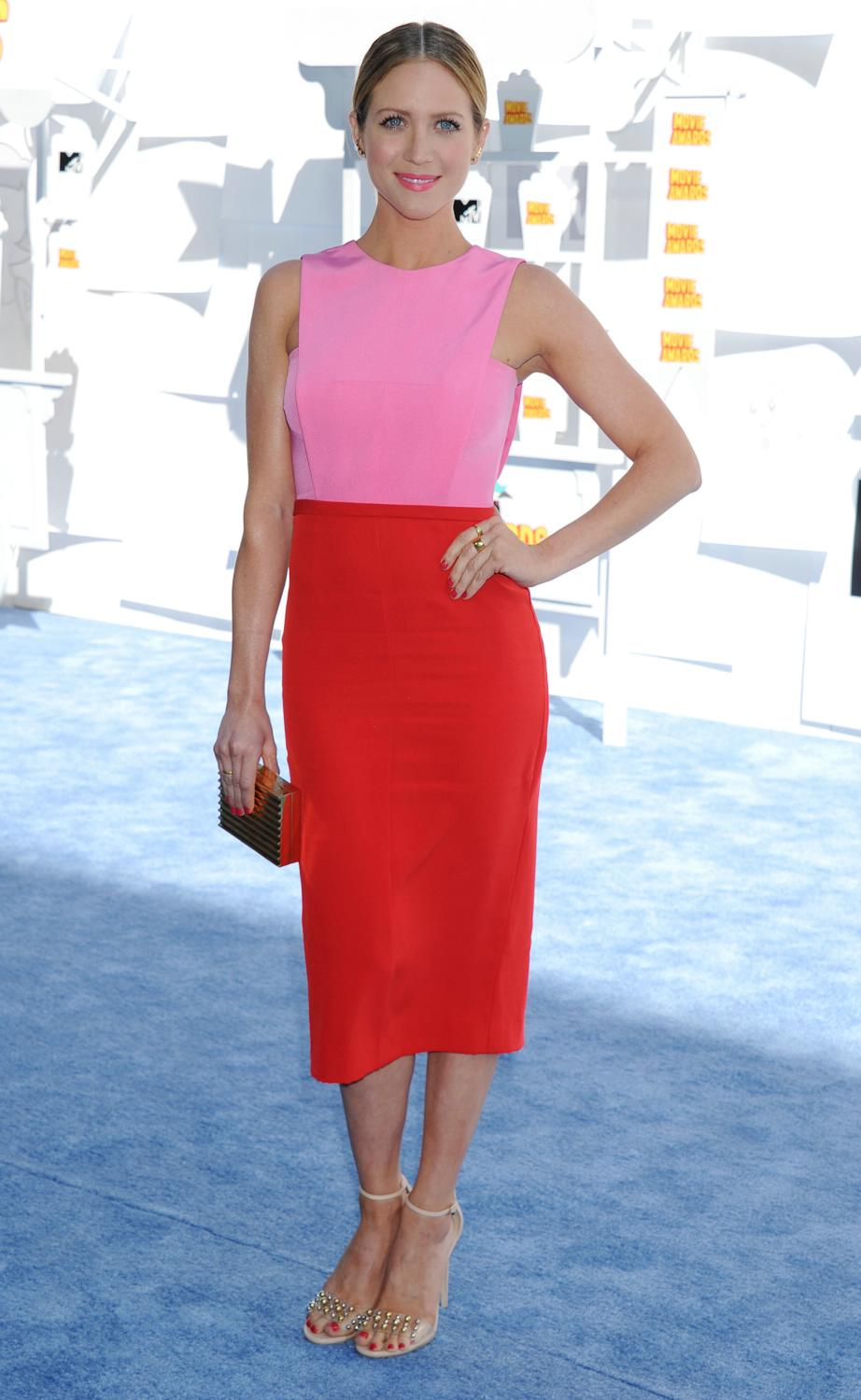 Brittany Snow at The MTV Movie Awards-2