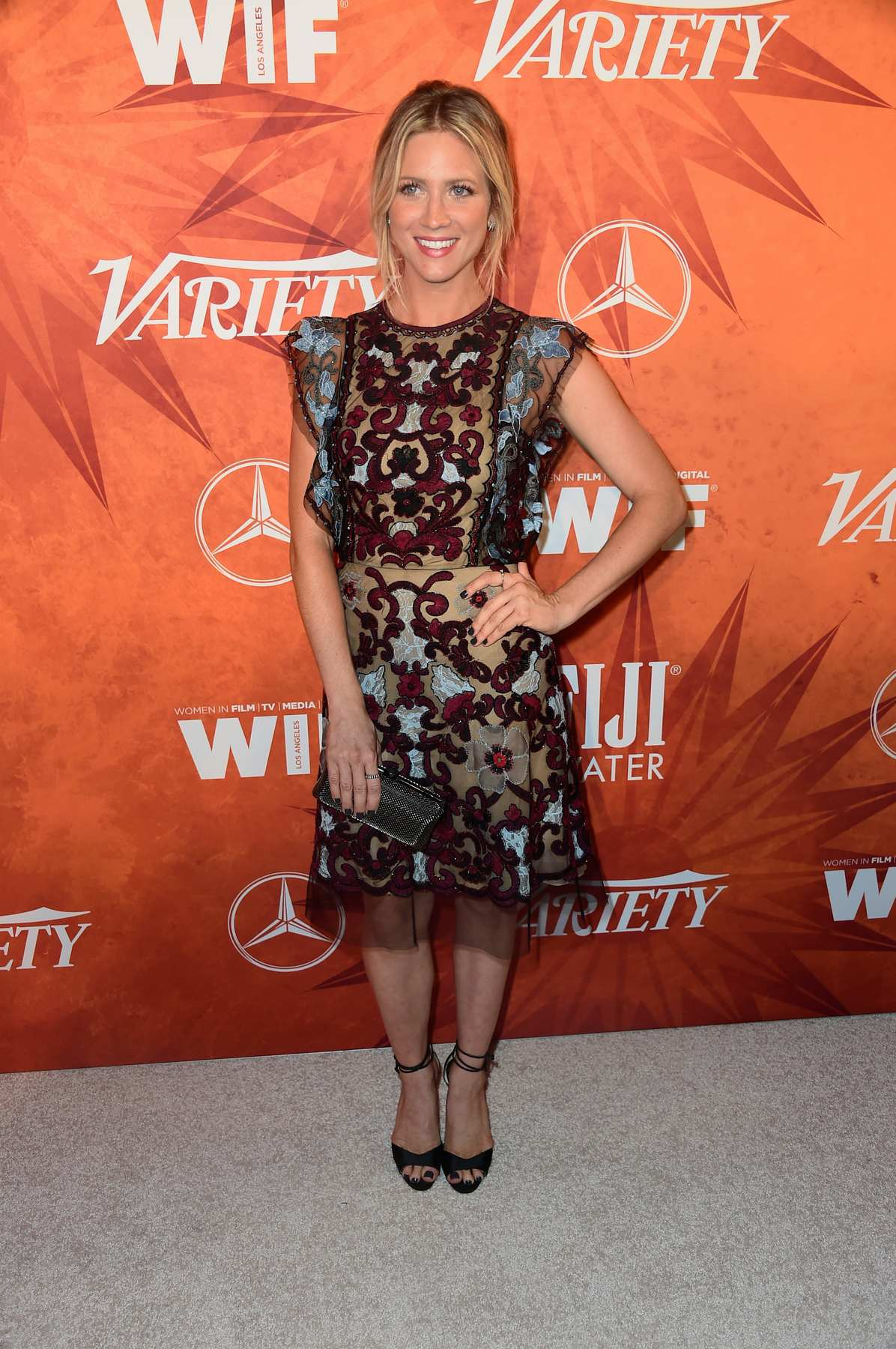 Brittany Snow at Variety and Women in Film Annual Pre-Emmy Celebration-1