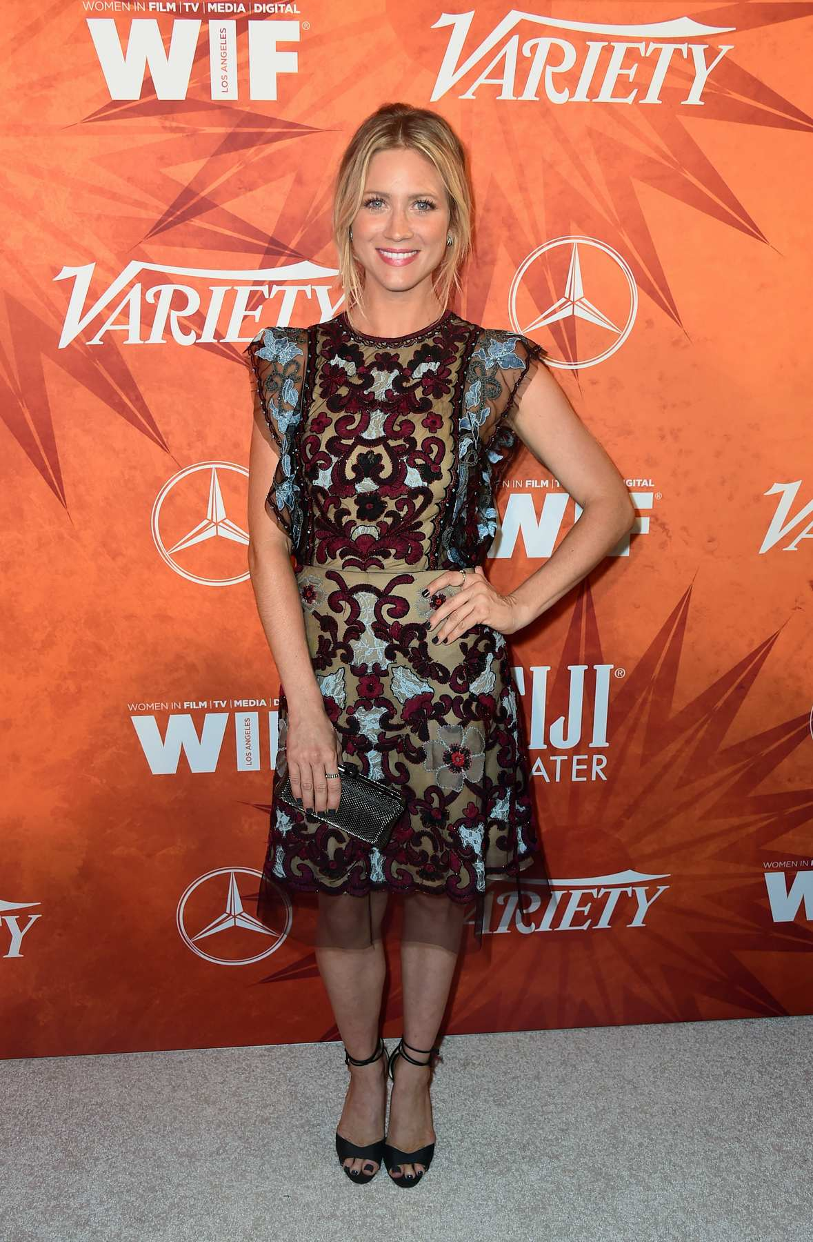 Brittany Snow at Variety and Women in Film Annual Pre-Emmy Celebration-2