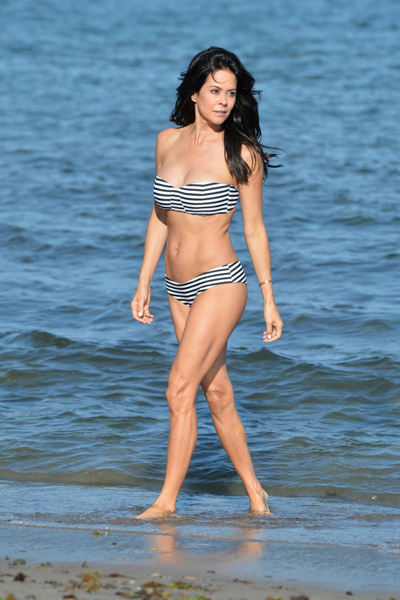 Were not brooke burke charvet bikini does