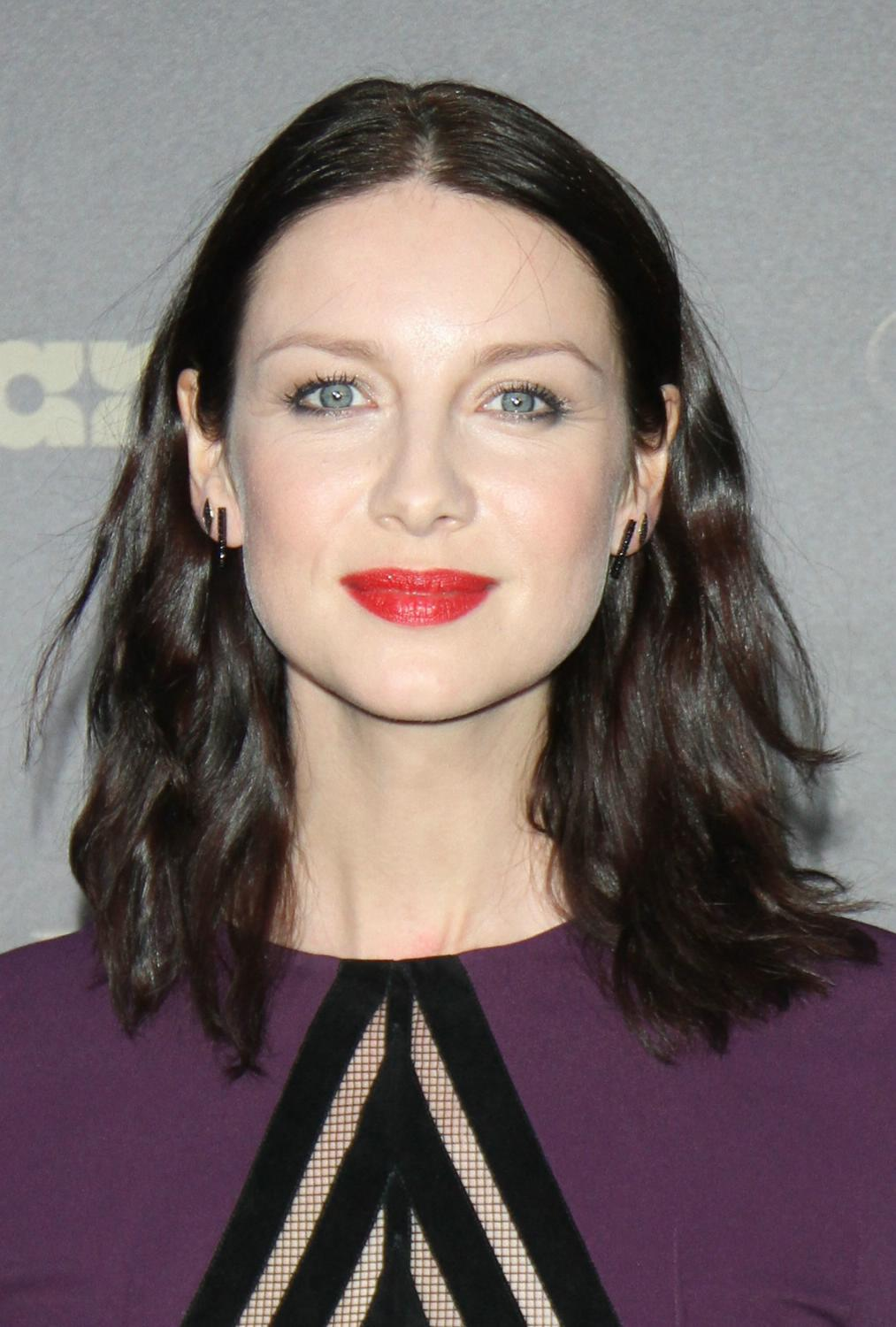 Caitriona Balfe with L...