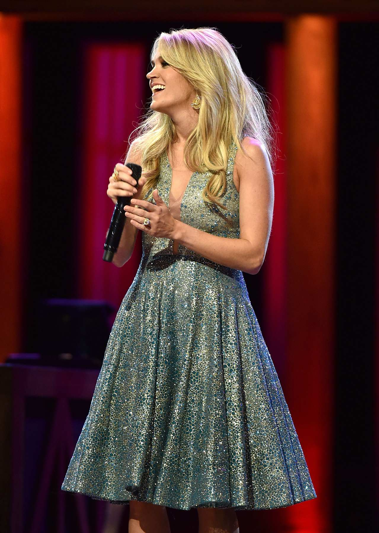 Carrie Underwood Performs At Grand Ole Opry Birthday Bash