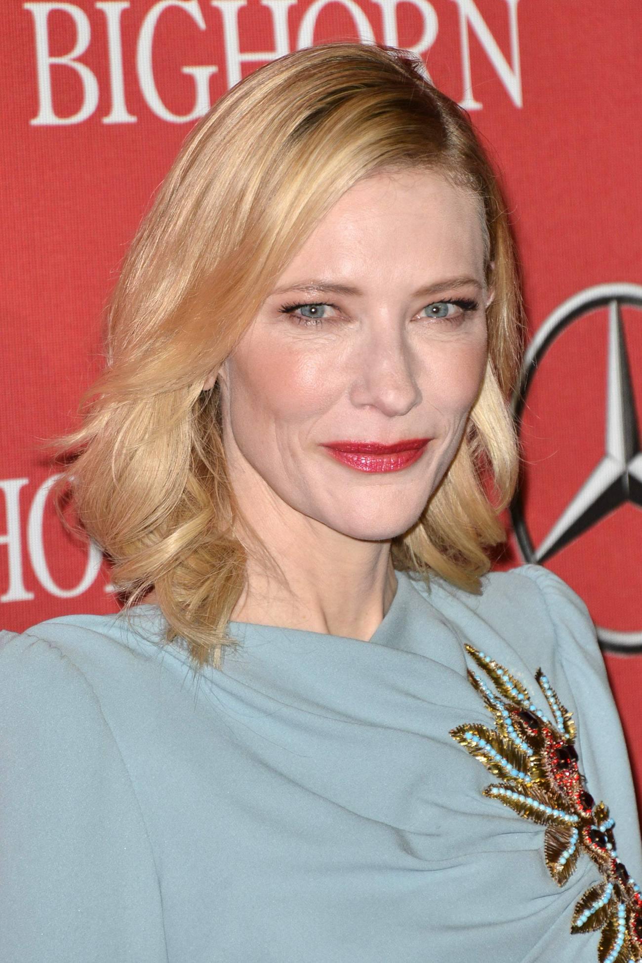 Cate Blanchett arrives at Annual Palm Springs International Film Festival Awards Gala Jan-1