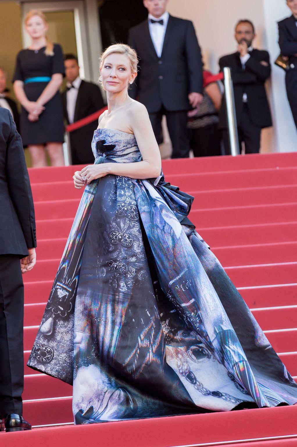 Cate Blanchett at annual Cannes Film Festival Carol Premiere-1