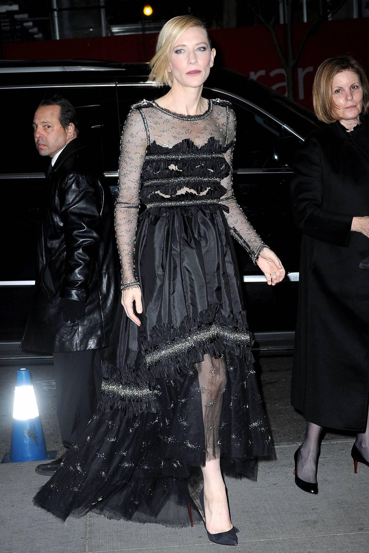 Cate Blanchett at Annual Museum Of Modern Art Film Benefit-1