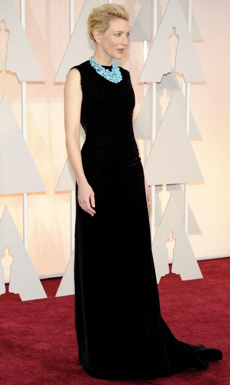 Cate Blanchett attendse Annual Academy Awards-1