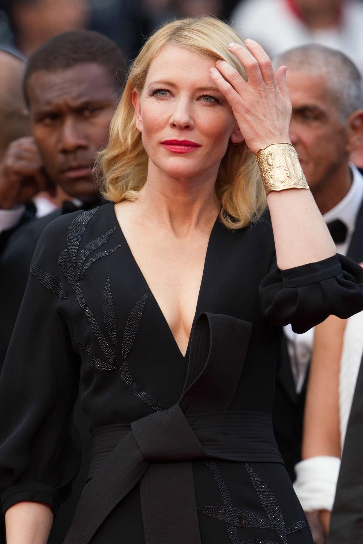 Cate Blanchett attendse Cannes Sicario Premiere-2
