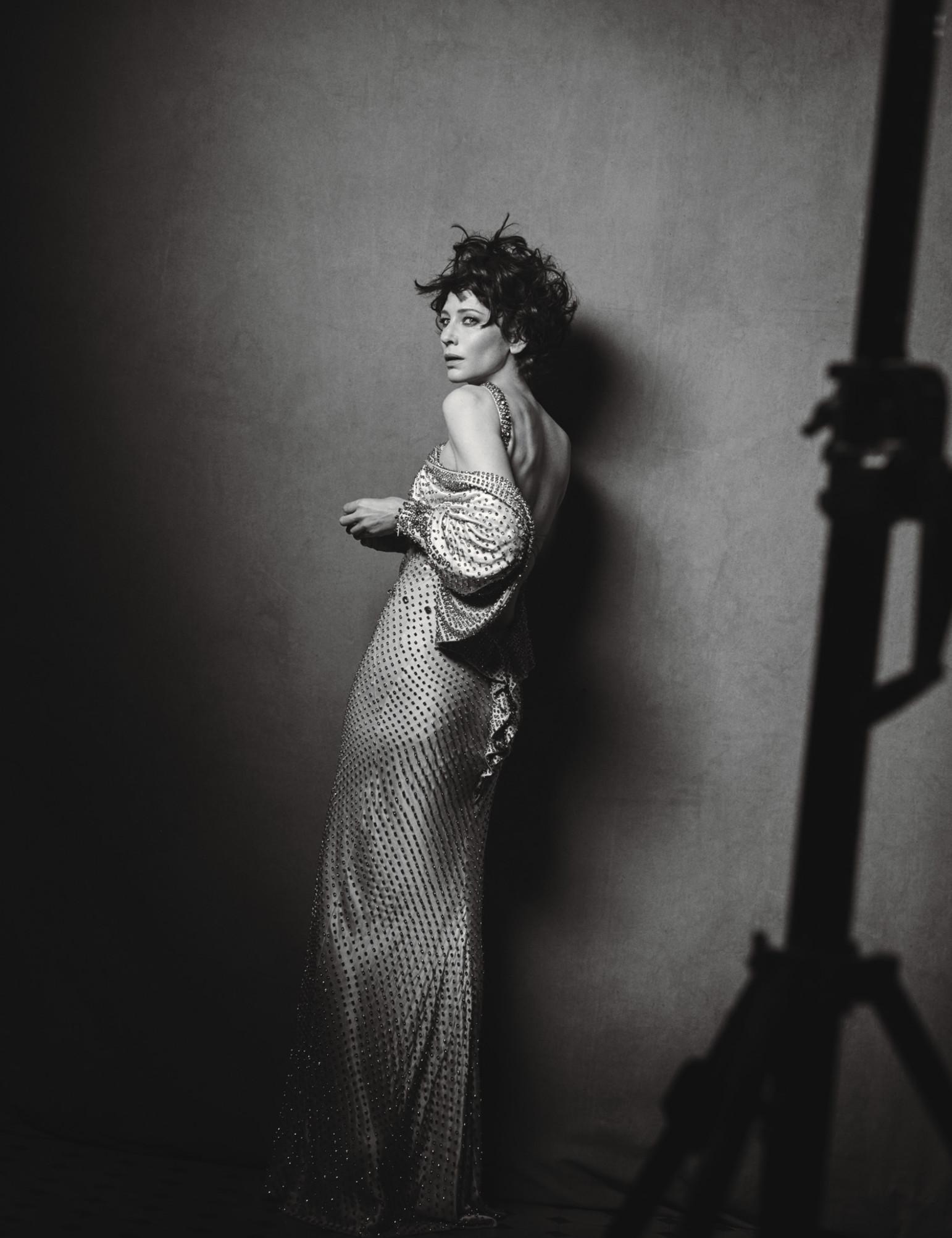 Cate Blanchett featured in W Magazine Photoshoot-1