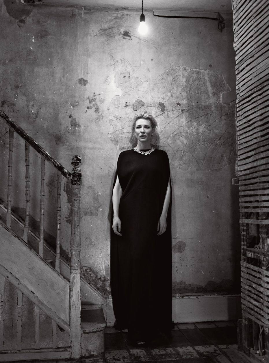 Cate Blanchett Harpers Bazaar Magazine, UK-1