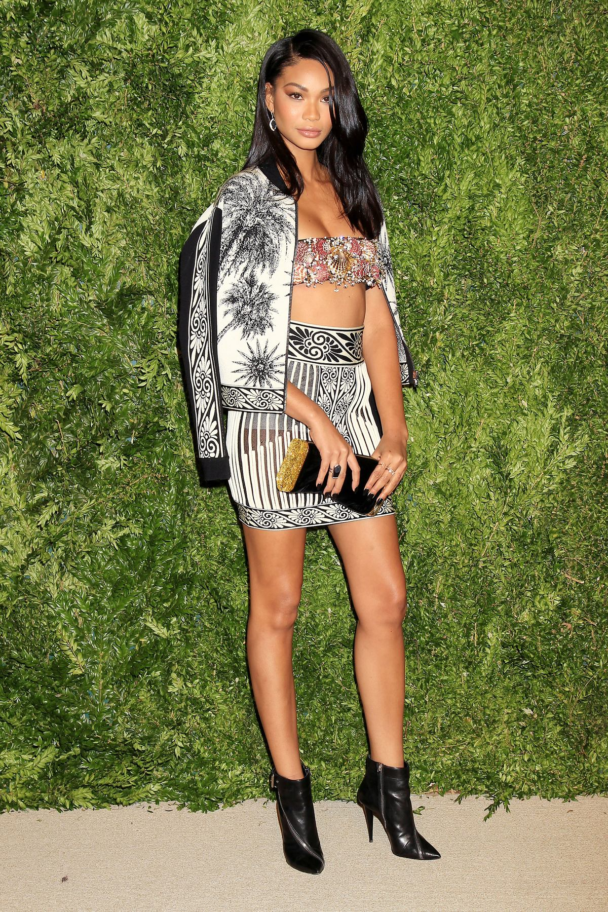 Chanel Iman at The Twelfth Annual CFDA/Vouge Fashion Fund Awards-2