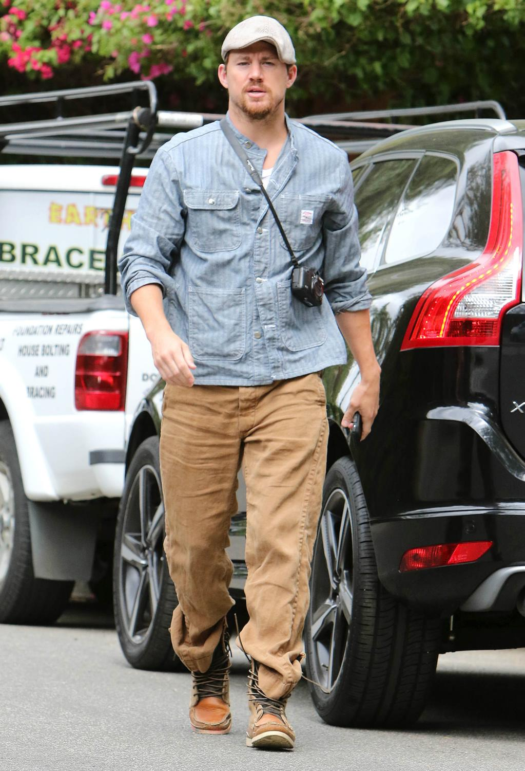 Channing Tatum out and about in Studio City-1
