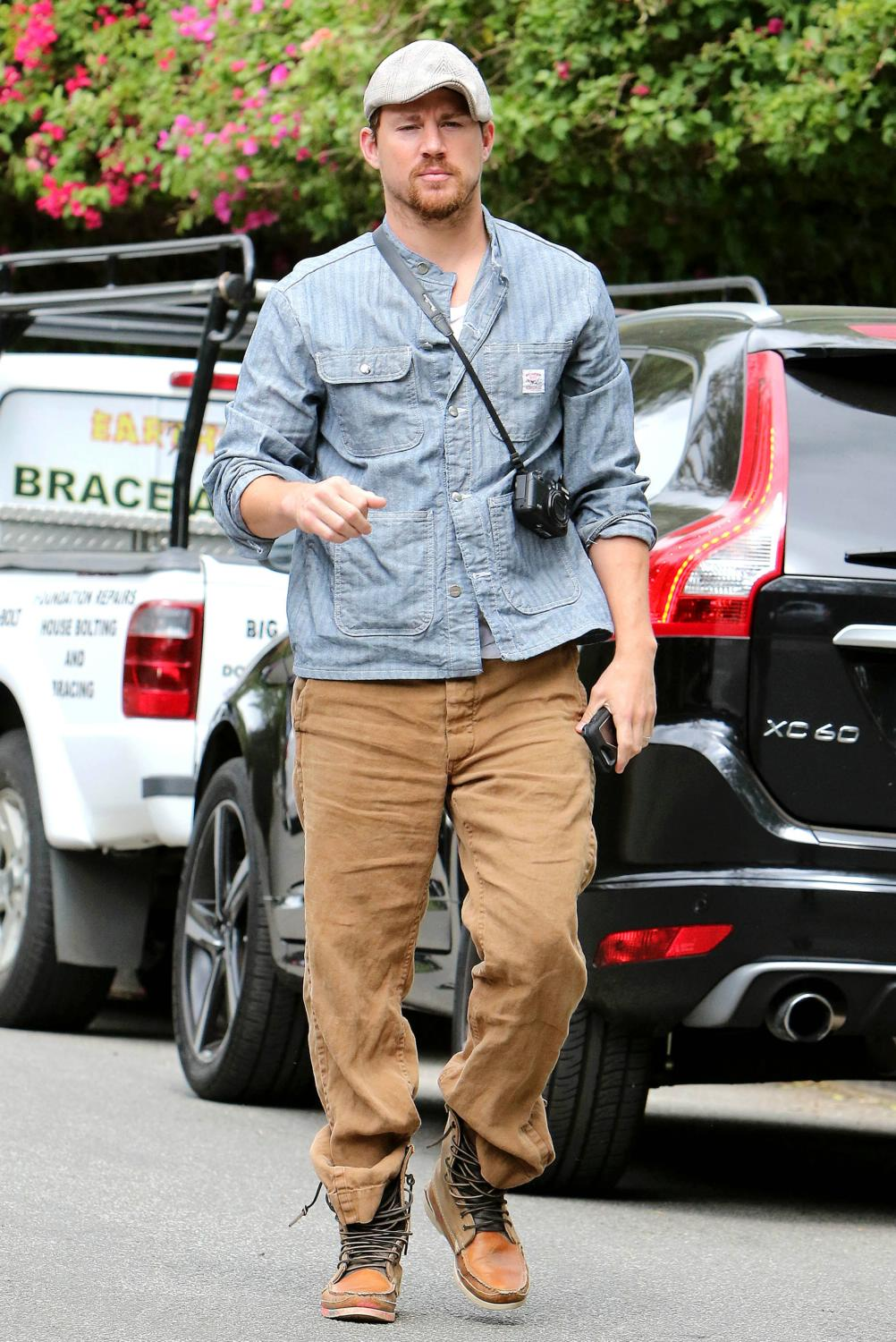Channing Tatum out and about in Studio City-2