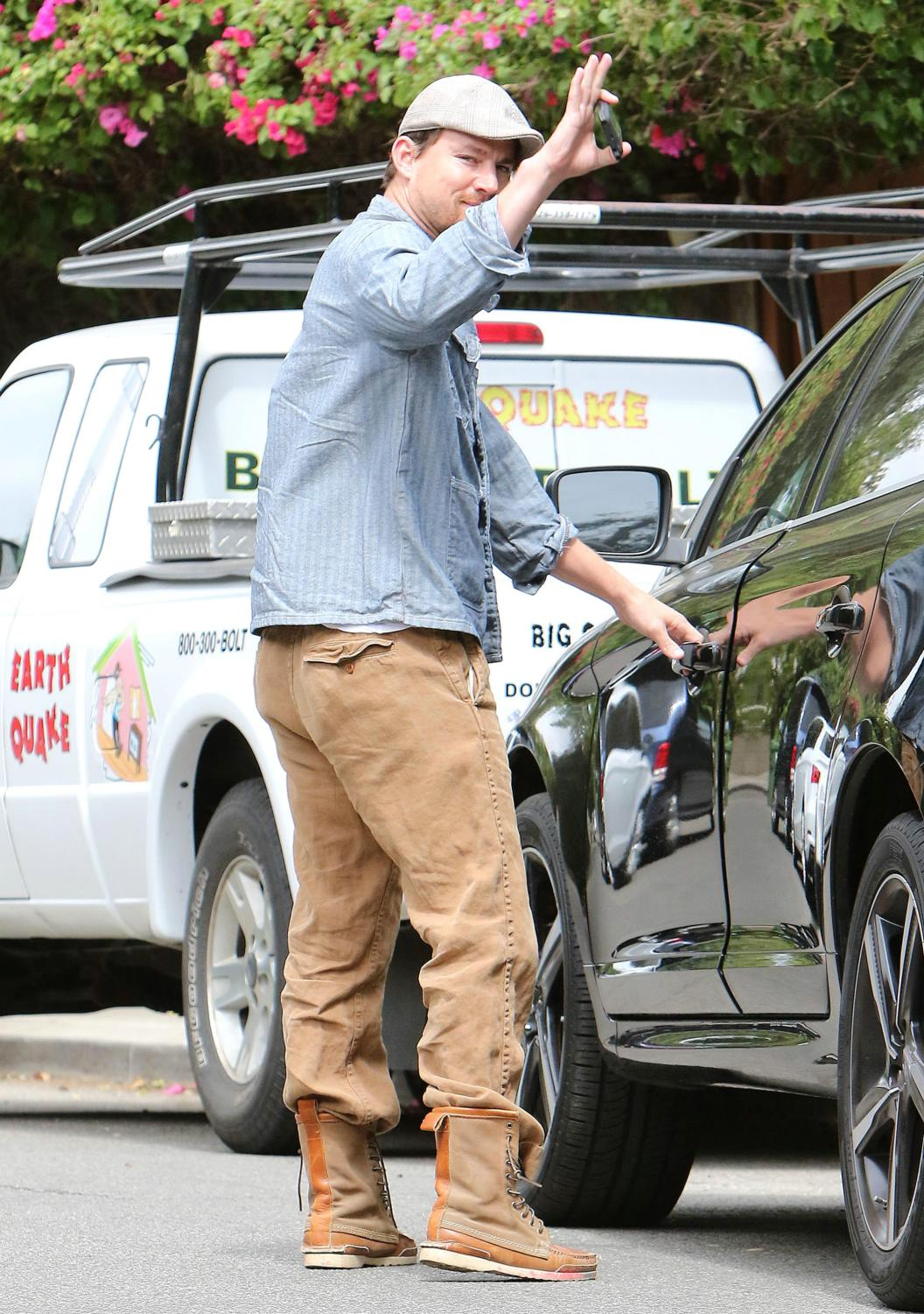 Channing Tatum out and about in Studio City-4