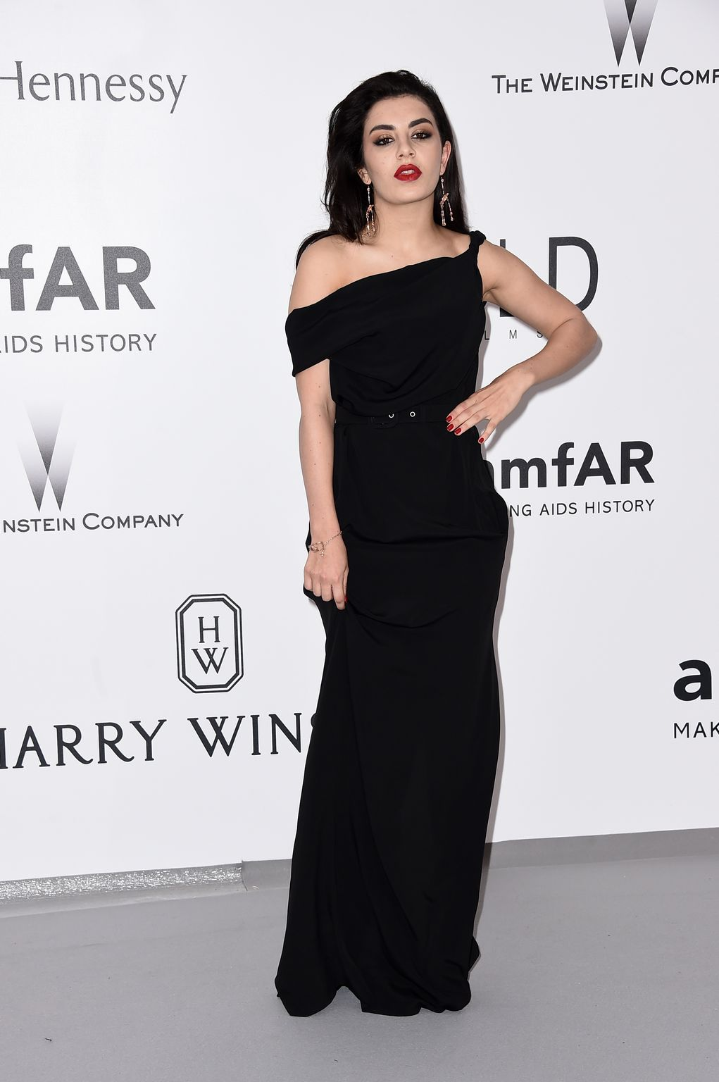 Charli XCX at amfARs Cinema Against AIDS Gala-1
