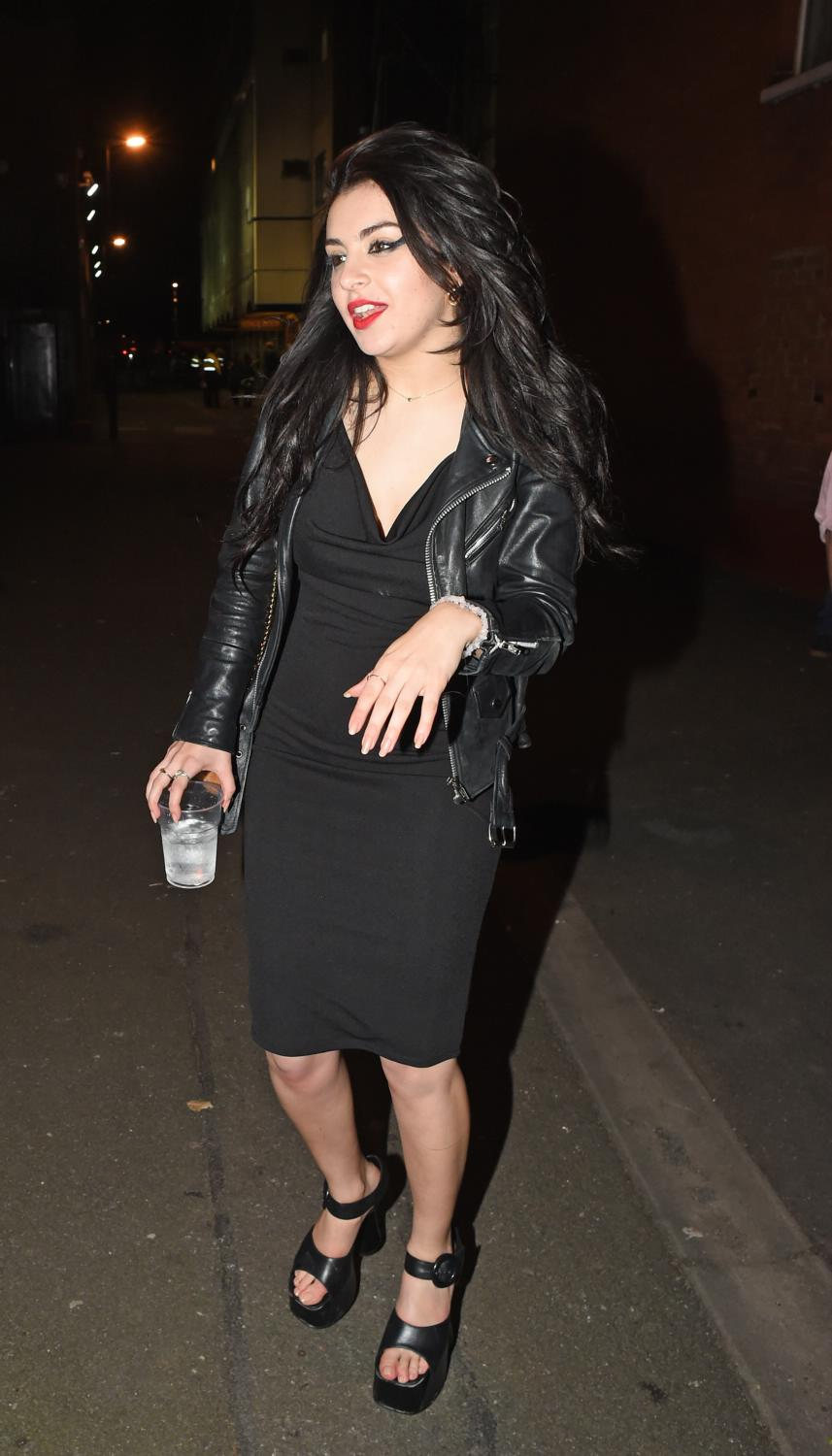 Charli XCX Seen Leaving The Shepherds Bush Empire-3