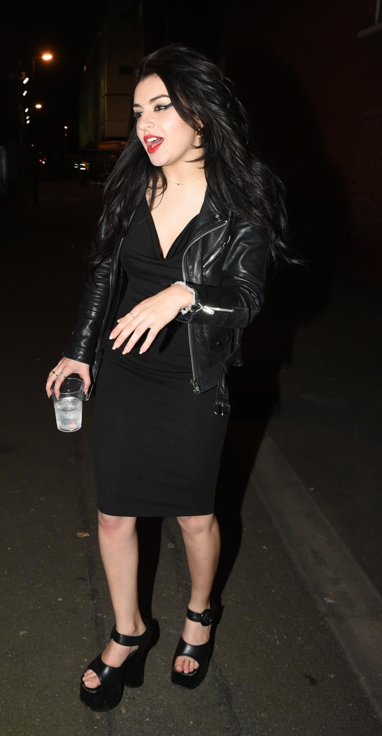 Charli XCX Seen Leaving The Shepherds Bush Empire-4