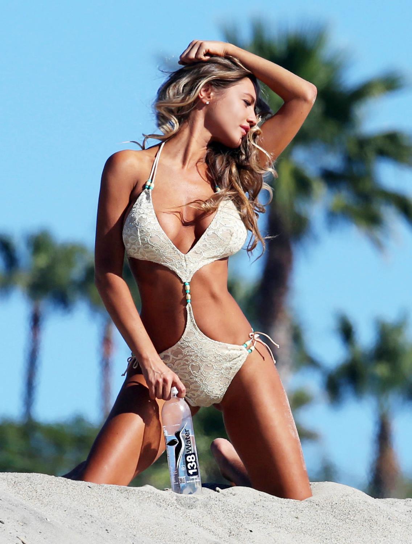 Charlie Riina Doing Bikini Photoshoot for Water-1