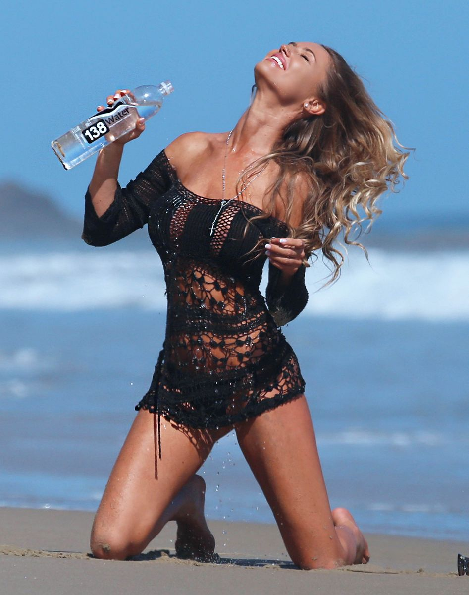 Charlie Riina Shoots For Water in Malibu-1