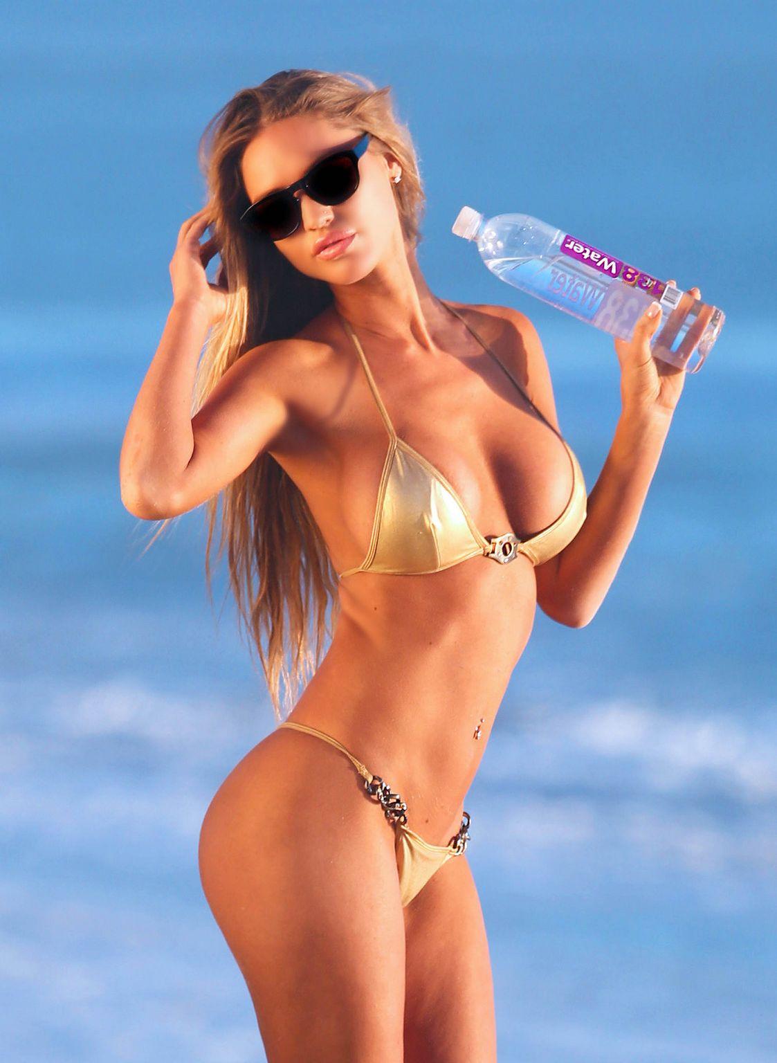 Charlie Riina Shows Off Her Bikini Body Where She Shoots For Water-3