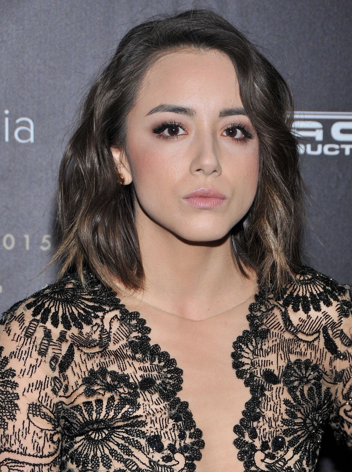 Chloe Bennet arrives at Unforgettable Gala Asian American Awards-1
