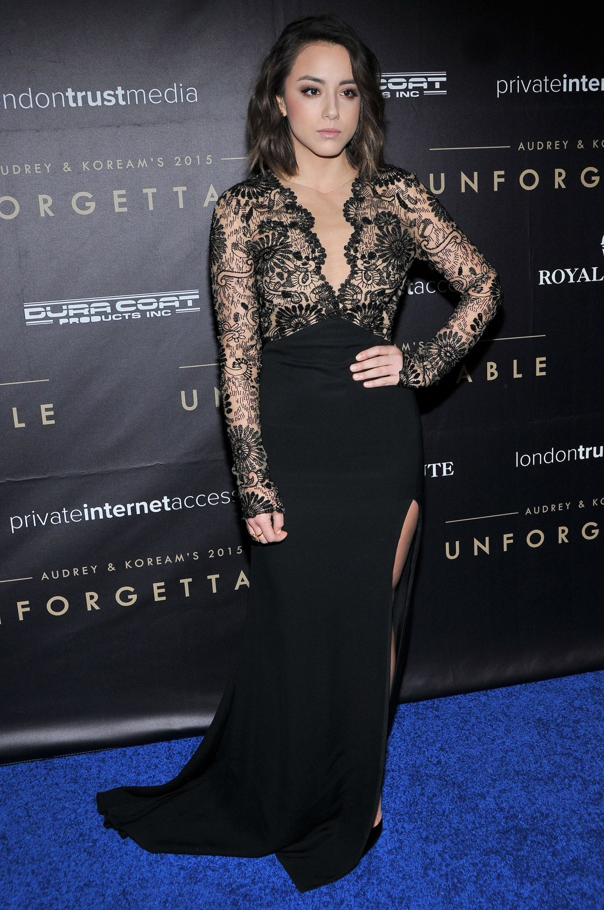 Chloe Bennet arrives at Unforgettable Gala Asian American Awards-3