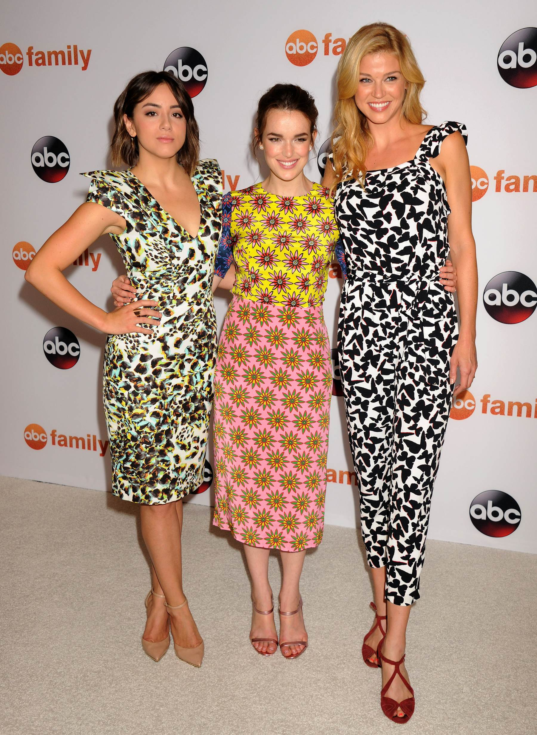 Chloe Bennet, Elizabeth Henstridge and Adrianne Palicki at Disney/ABC TCA Summer Press Tour-4