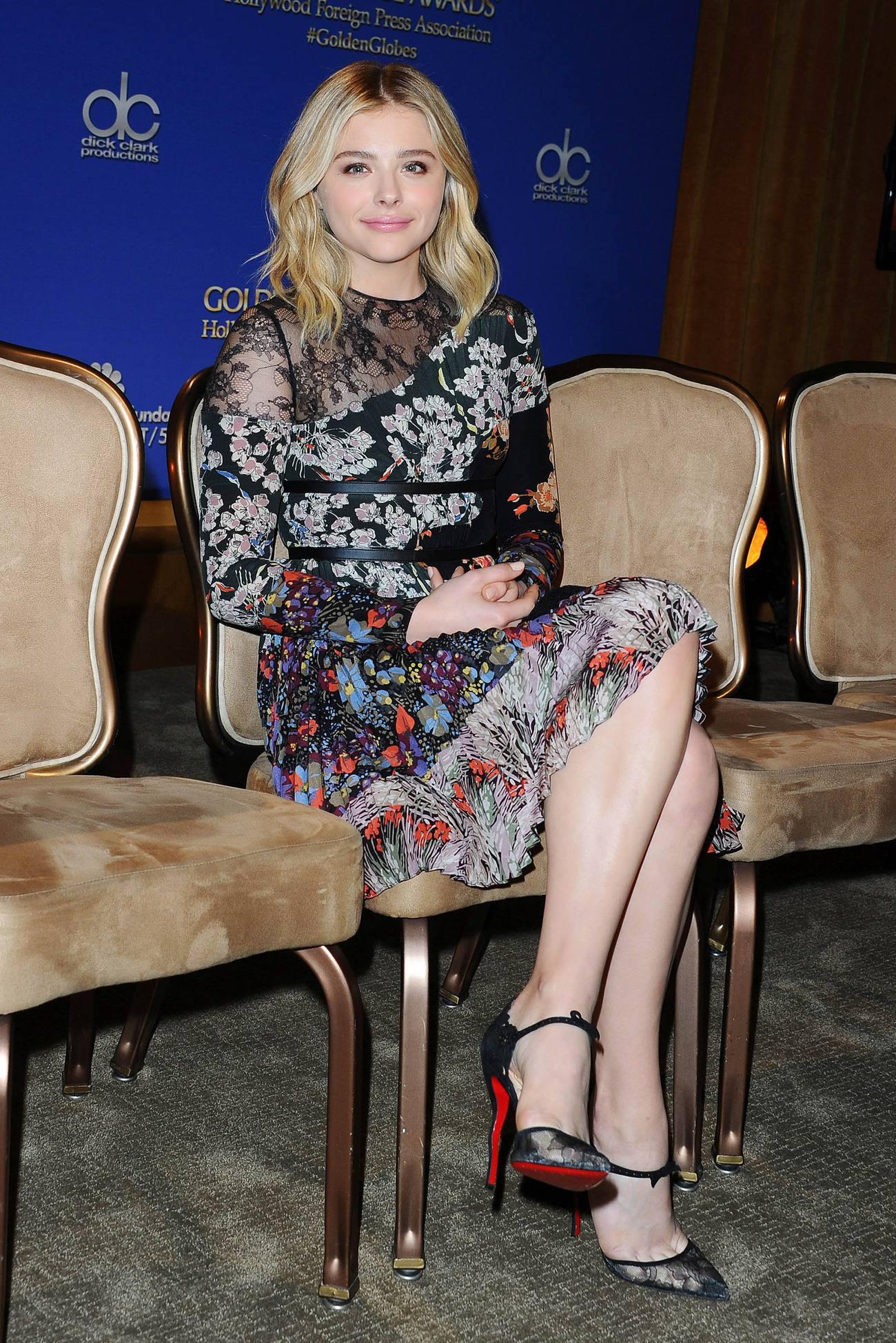 Chloe Moretz at Annual Golden Globe Awards-1