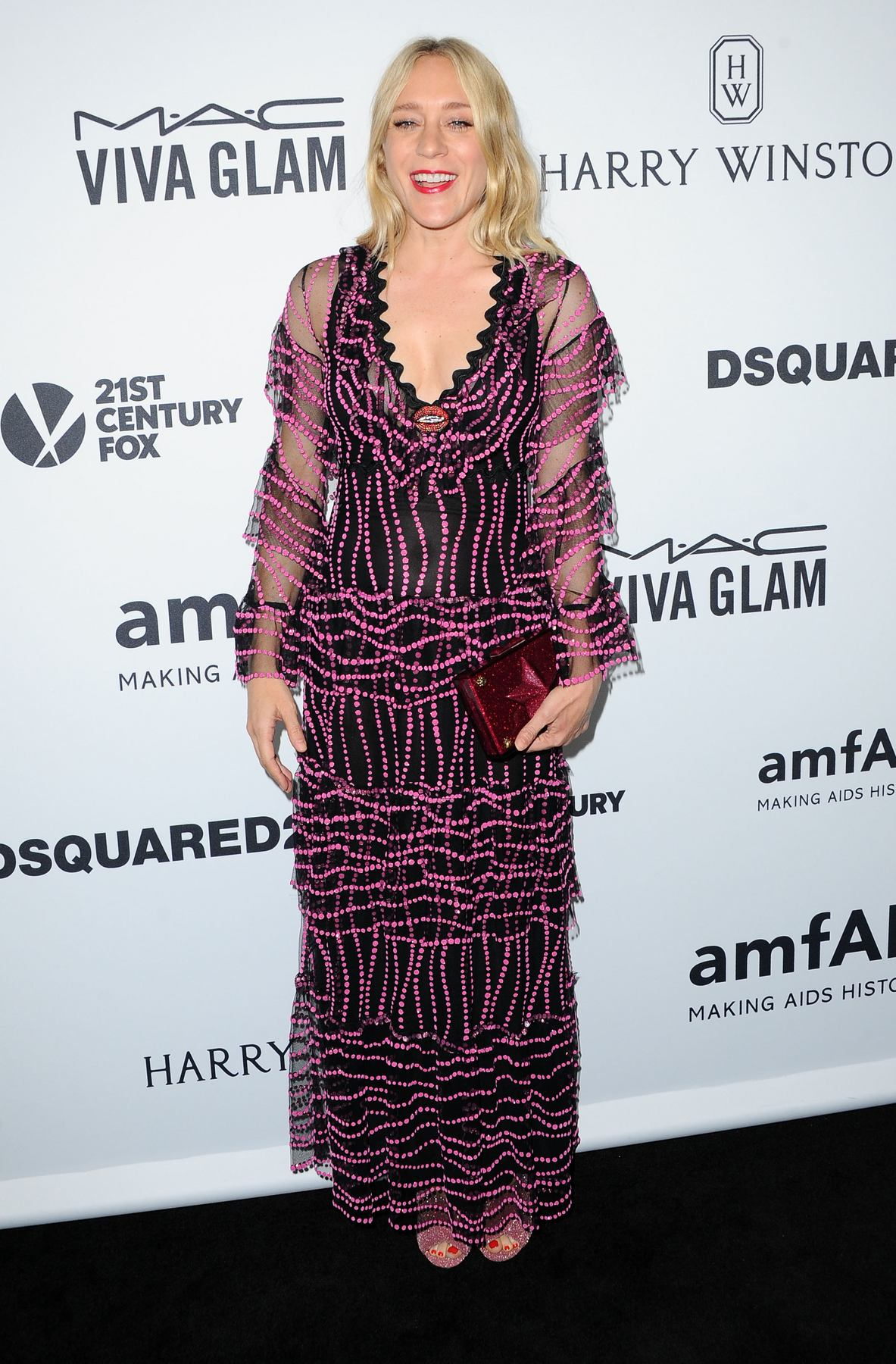 Chloe Sevigny arrives at amfAR`s Inspiration Gala-1