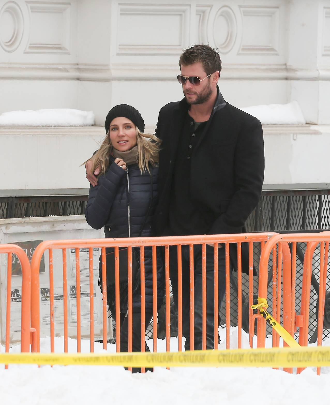 Chris Hemsworth and Elsa Pataky Romantic Stroll in NYC-2
