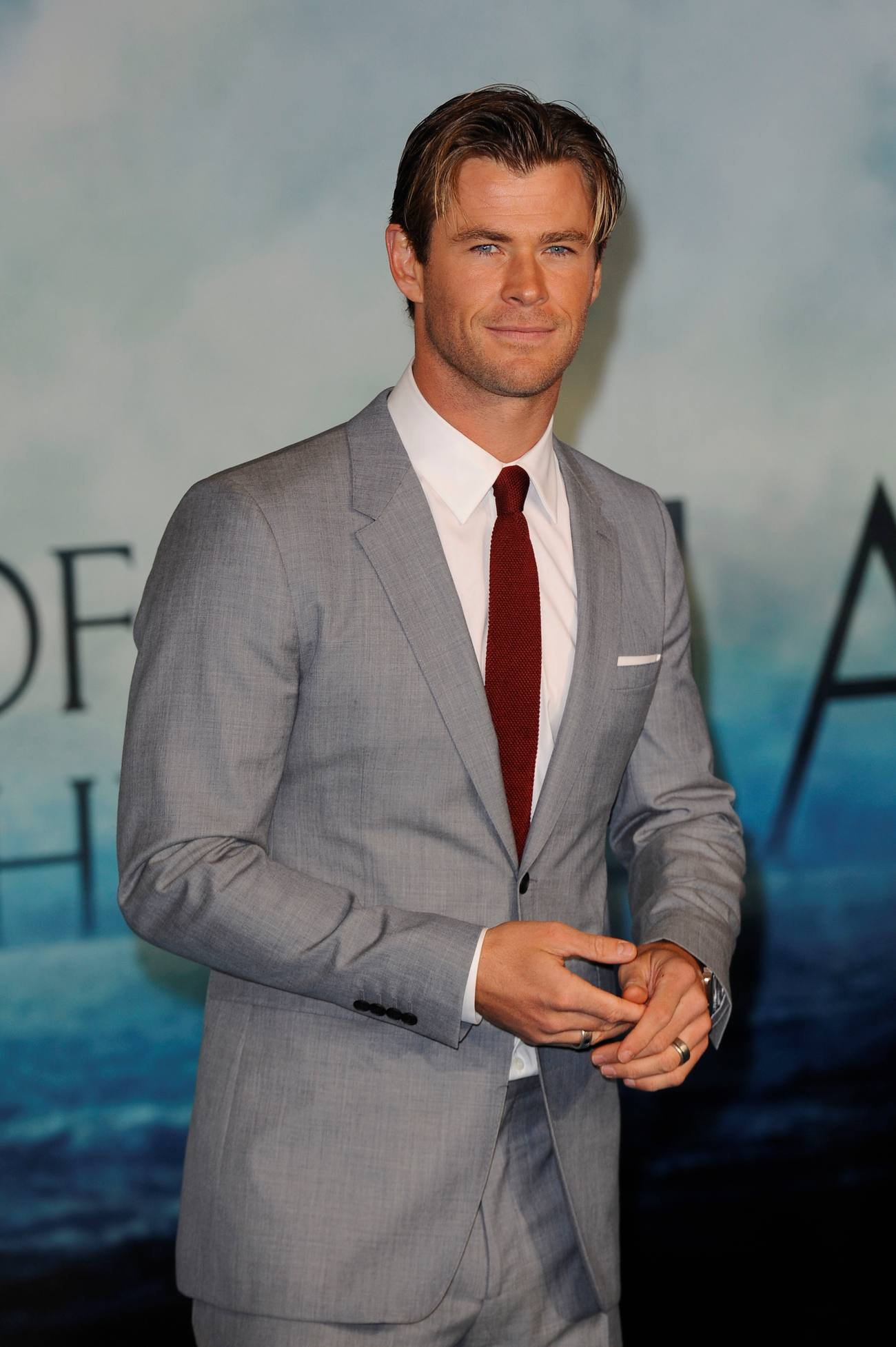 Chris Hemsworth at In The Heart Of The Sea European Premiere-1