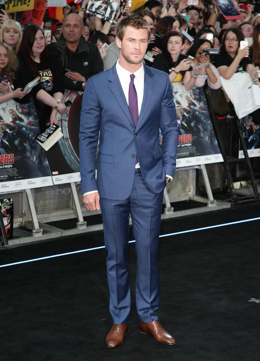 Chris Hemsworth at The Avengers: Age Of Ultron European Premiere-2