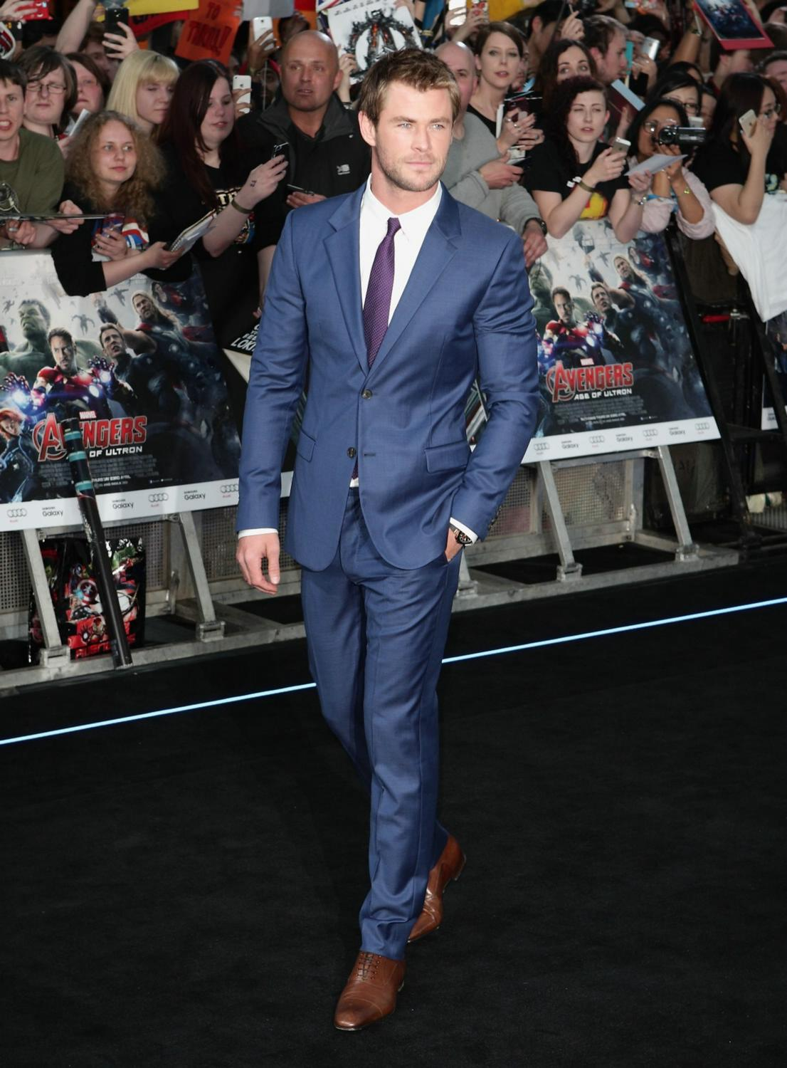 Chris Hemsworth at The Avengers: Age Of Ultron European Premiere-3
