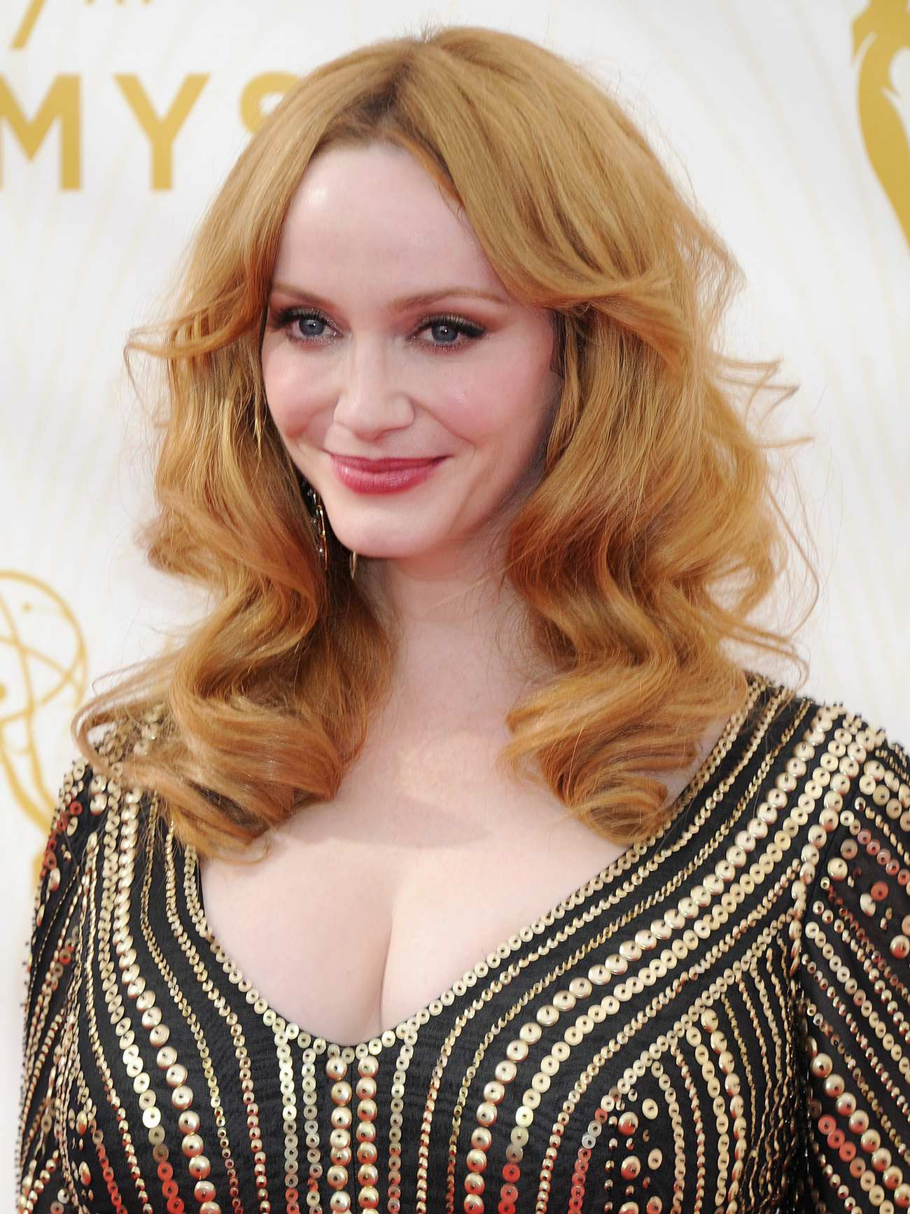 Christina Hendricks Arrives at Annual Primetime Emmy Awards-2